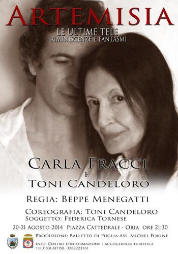 Carla Fracci and Toni Candeloro in Artemisia