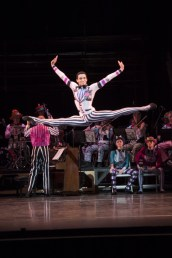Elite Syncopations_ Brandon Lawrence in 'Friday Night' with members of the Birmingham Royal Ballet and the Royal Ballet Sinfonia_ photo Bill Cooper