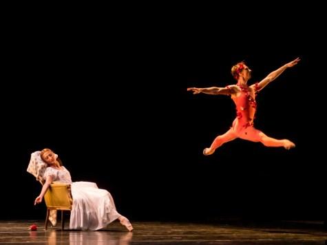 Vadim Muntagirov and Daria Klimentova in Le spectre de la rose