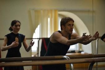 Andrey Merkuriev in rehearsal