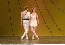 Edward Watson and Lauren Cuthbertson in Smphonic Variations - photo Dee Conway
