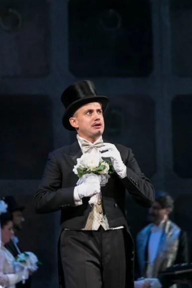 Franco Fagioli as Athamas in Semele at the Cuvilliés-Theater