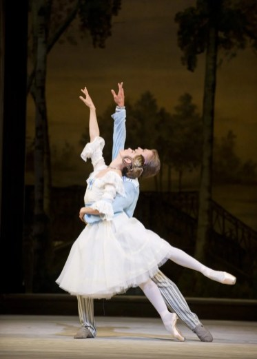 Zenaida Yanowsky as Natalia Petrovna and Rupert Pennefather as Beliaev in A Month in the Country - photo Tristram Kenton, 2012