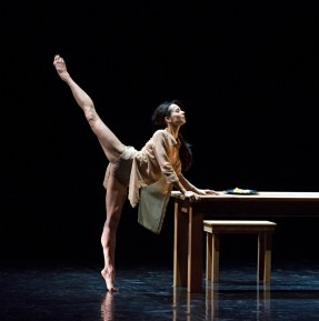 Diana Vishneva in Carolyn Carlson's Woman in a Room - photo Gene Schiavone