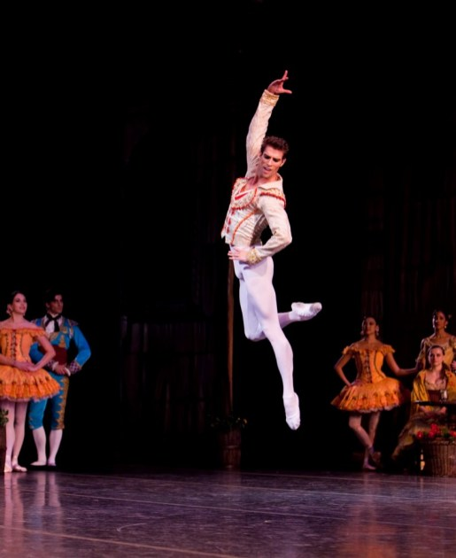 James Whiteside in Don Quixote - photo Renata Pavam