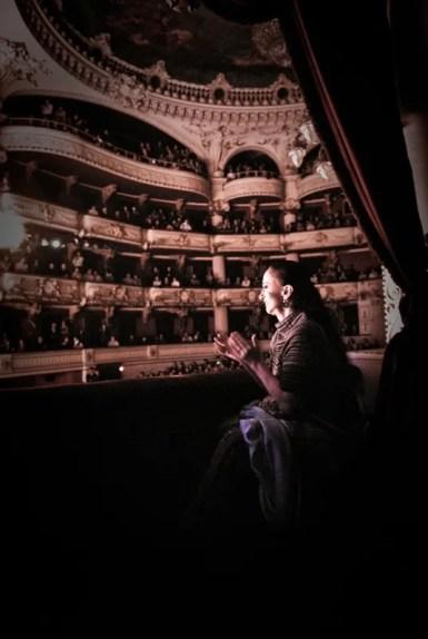 Marcia Haydée in Santiago's Teatro Municipal