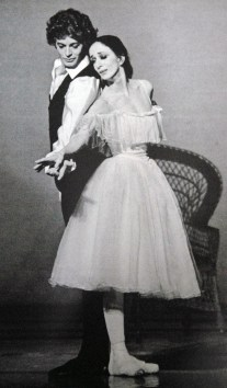 Marcia Haydée with Egon Madsen