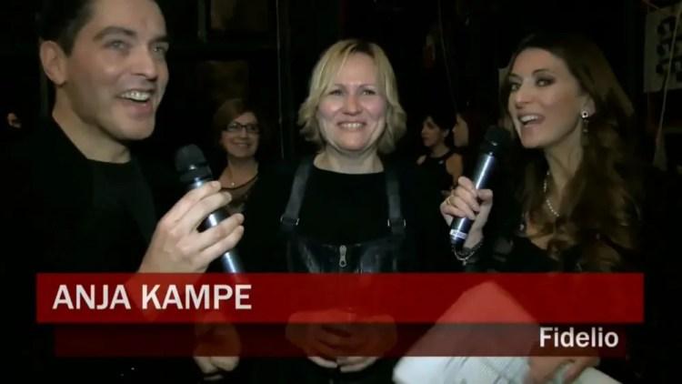 Fidelio Backstage with Graham Spicer, Anja Kampe and Silvia Farina, La Scala 2014