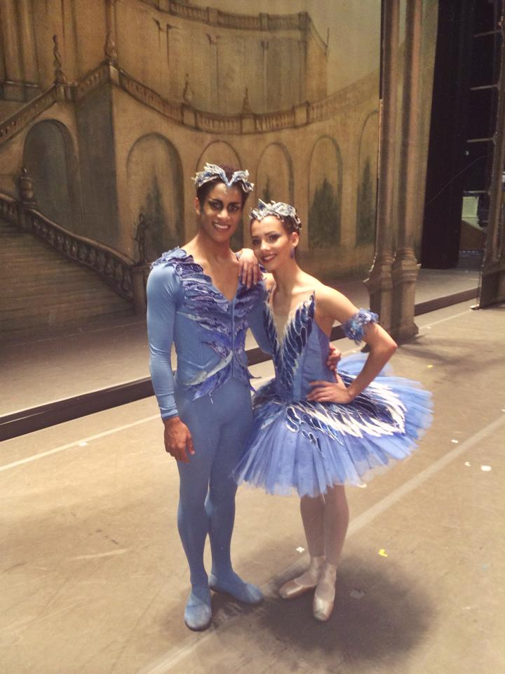 Bluebirds - Francesca Hayward with Marcelino Sambé, Royal Ballet