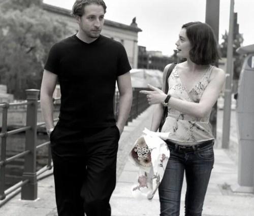 Paul Seaquist with Aurélie Dupont