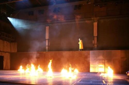 Fahrenheit 451 - photo by Marcello Norberth. Piccolo Teatro di Milano