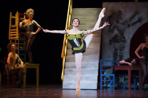 Ludmila Pagliero in Roland Petit's Carmen - photo Julien Benhamou
