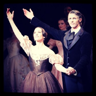 Ludmila Pagliero with Karl Paquette in John Cranko's Onegin