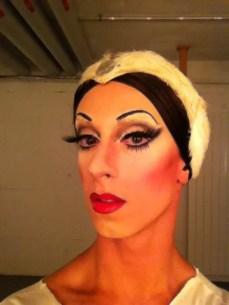 Alberto Pretto in make-up