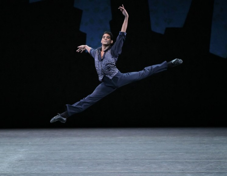 Amar Ramasar in Who Cares - photo by Paul Kolnik