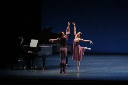Other Dances with Ashley Bouder and Joaquin De Luz - photo by Paul Kolnik