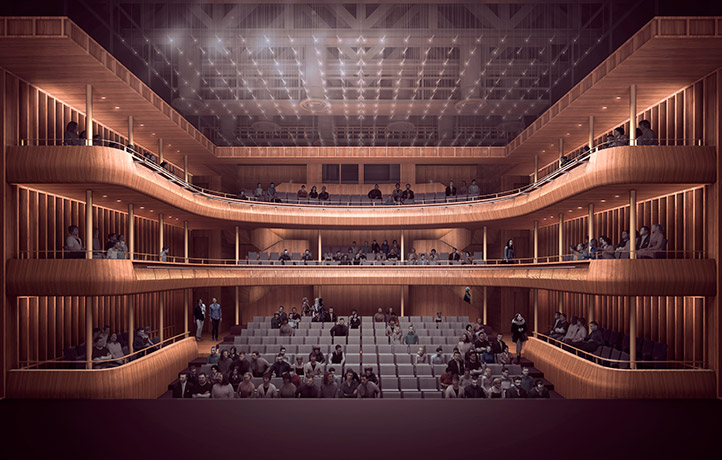 Royal Opera House, new midscale theatre