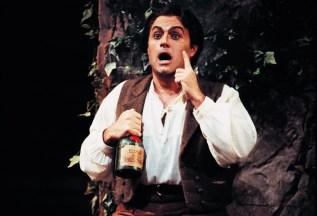 Frank Lopardo as Nemorino in Donizetti's The Elixir of Love - photo by Dan Rest