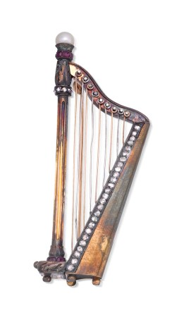 Sotheby's Australia - Dame Nellie Melba harp brooch