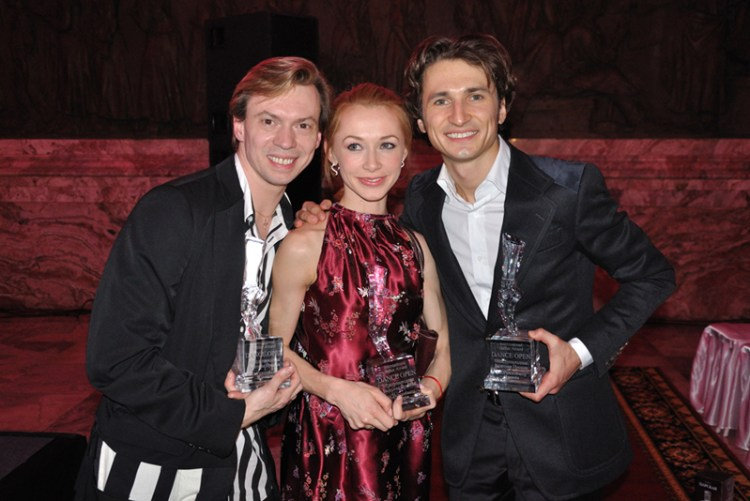 Valdimir Malakhov, Iana Salenko and Dinu Tamazlacaru win Dance Open Awards 2012