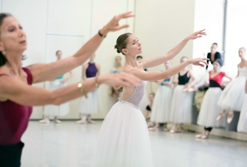 With Natasha Kusch staging my production of Giselle for The Australian Ballet February 2015 Melbourne