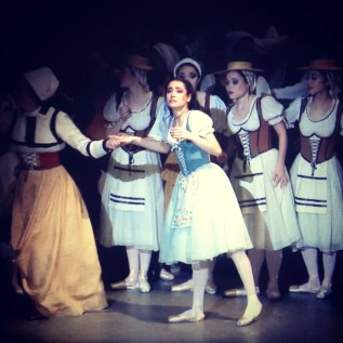 Video still of Mathilde's first Giselle in San Francisco