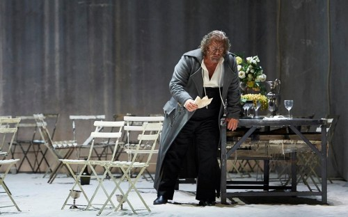 Gregory Kunde as Otello - La Scala, photo by Matthias Baus