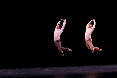 Joaquín de Luz and Marcelo Gomes in Tristesee - photo by Dasa Wharton