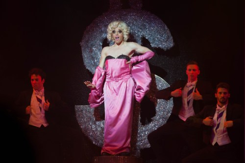 Riccardo Sinisi as Adam-Felicia in Priscilla Queen of the Desert