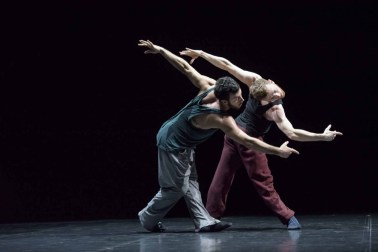William Forsythe's Duo with Brigel Gjoka and Riley Watts - photo by Bill Cooper 2015