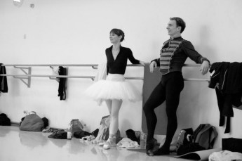 During a rehearsal for Swan Lake with Alen Bottaini, Bayerisches Staatsballett
