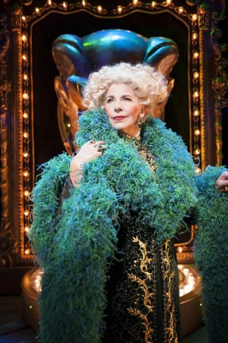 Louise Plowright as Madame Morrible - photo by Matt Crockett