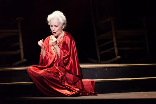 Frederica von Stade as Myrtle in A Coffin in Egypt - photo by Lynn Lane - Houston Grand Opera
