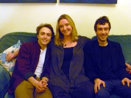 Matthew with his two older siblings, Jonathan and Kate, in 2014