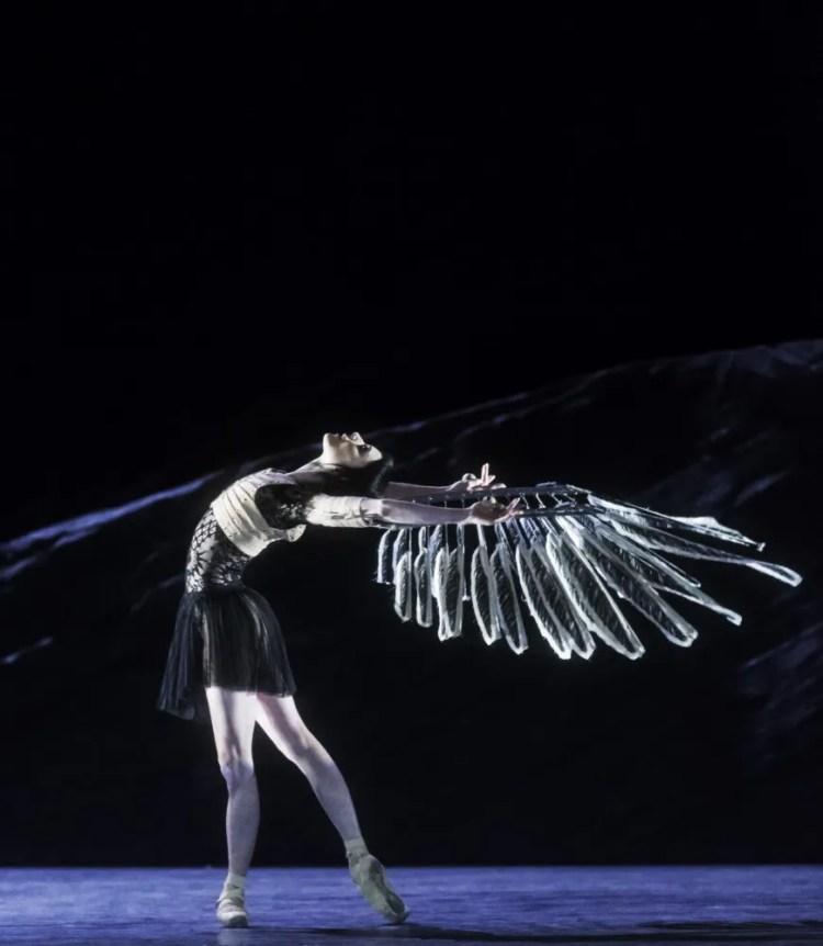 Raven Girl with Sarah Lamb. ©ROH, Johan Persson