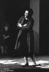 Virginia Zeani as Magda in The Consul at the Maggio Musicale Fiorentino, 1972