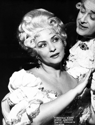 Virginia Zeani in Manon Lescaut at the Maggio Musicale Fiorentino, 1966
