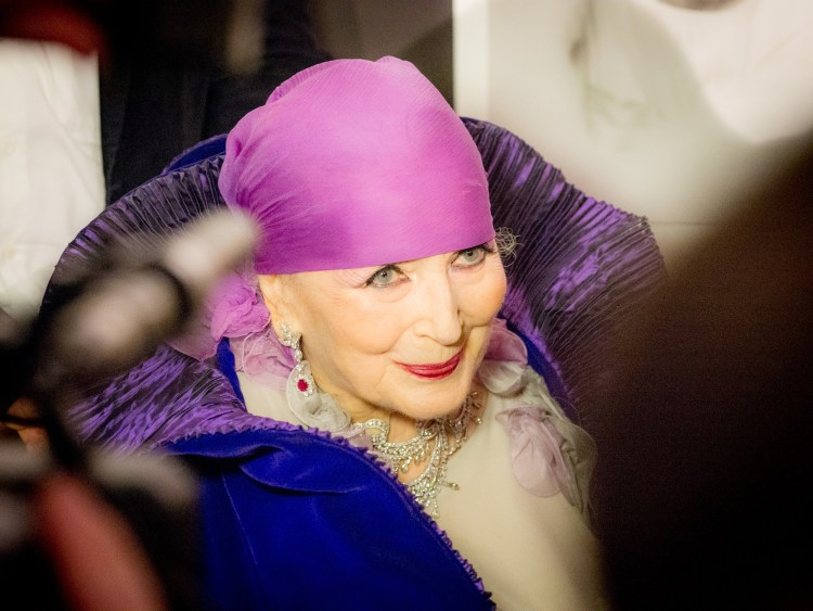 Valentina Cortese at 90 © Graham Spicer