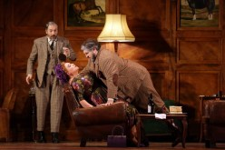 Marie-Nicole Lemieux (Mistress Quickly) and Nicola Alaimo (Falstaff) © Marco Brescia & Rudy Amisano, Teatro alla Scala