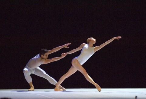 'Million Kisses to My Skin', choreography by David Dawson, London Festival Hall 2008