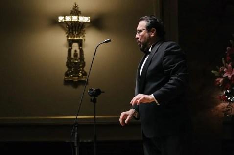 Carlo Colombara in recital at the Wigmore Hall, London 2015 - photo Jonathan Rose