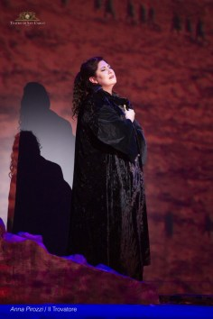 Anna Pirozzi in Il trovatore at Teatro san Carlo, Naples - photo by Francesco Squeglia