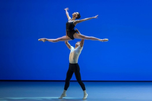 Viktorina Kapitonova in Balanchine's The Four Temperaments - photo by Gregory Batardon