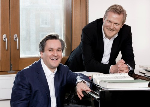 MUSIC DIRECTOR ANTONIO PAPPANO AND DIRECTOR OF OPERA KASPER HOLTEN - © ROH/ JOHAN PERSSON