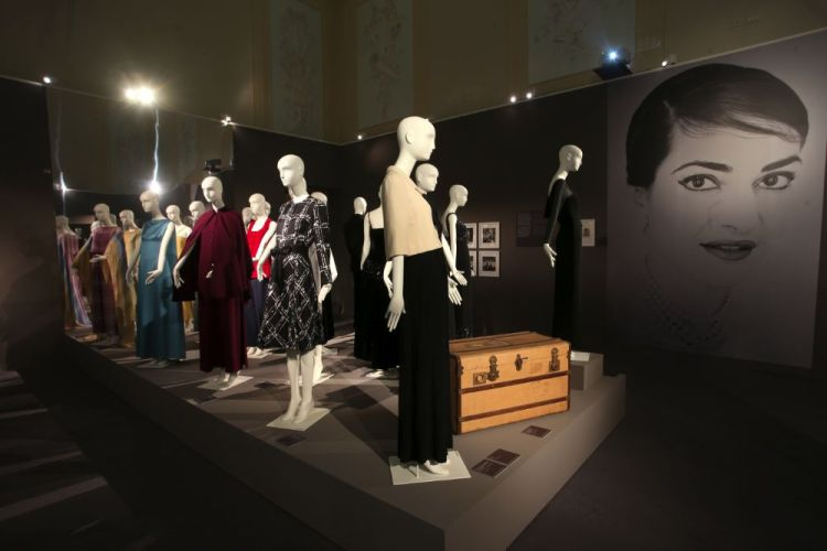 Collection of Maria Callas's dresses