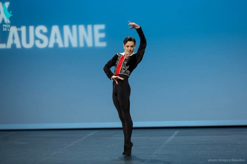 Dancing Basilio during the Lausanne final