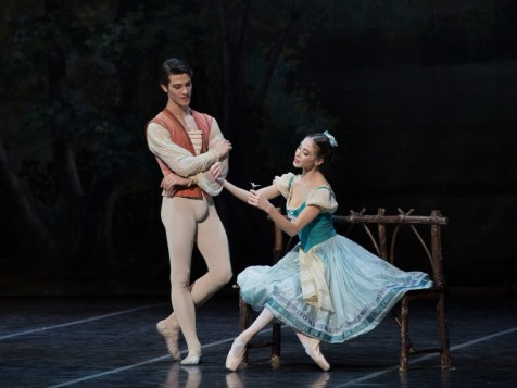Giselle with Rebecca Bianchi and Claudio Coviello - photo by Yasuko Kageyama, Teatro dell'Opera di Roma