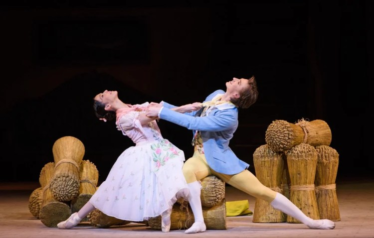 La Fille Mal Gardee - Vadim Muntagirov as Colas and Laura Morera as Lise - ©ROH, 2015 photographed by Tristam Kenton