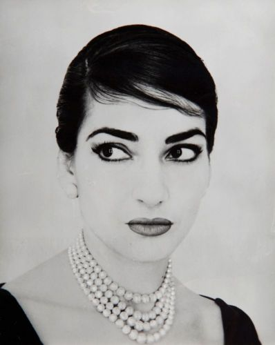 Maria Callas by Jerry Tiffany, New York 1958 (Collection Ilario Tamassia)