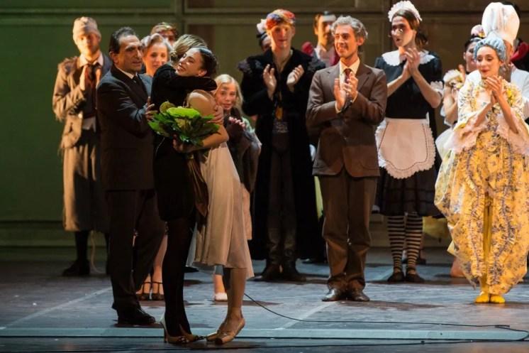Rebecca Bianchi promoted to Principal Dancer by Eleonora Abbagnato and Carlo Fuortes after The Nutcracker - photo by Yasuko Kageyama, Teatro dell'Opera di Roma